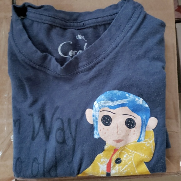 Hot Topic Tops Coraline Too Old For Dolls Tee Poshmark